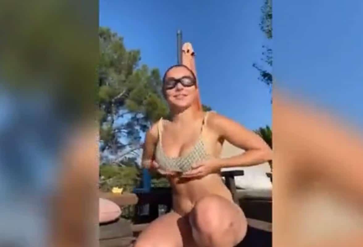 H Charli XCX ανέβασε ξανά το βίντεο που διέγραψε το Instagram και έγινε χαμός
