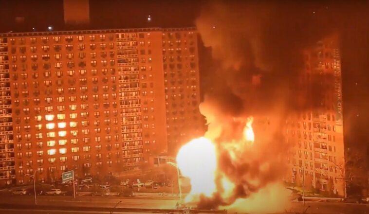 Νέα Υόρκη, Νέα Υόρκη τροχαίο ατύχημα, Νέα Υόρκη Έκρηξη