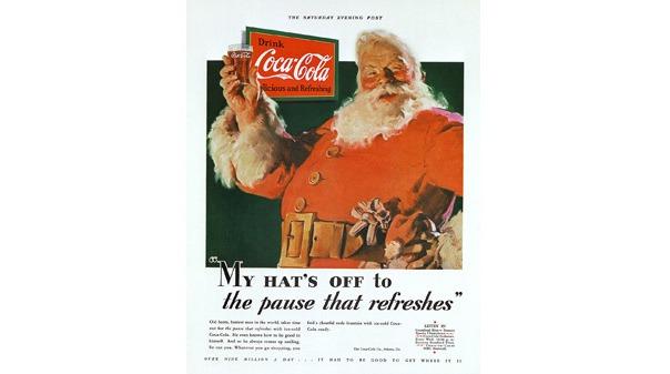 Άγιος Βασίλης coca cola