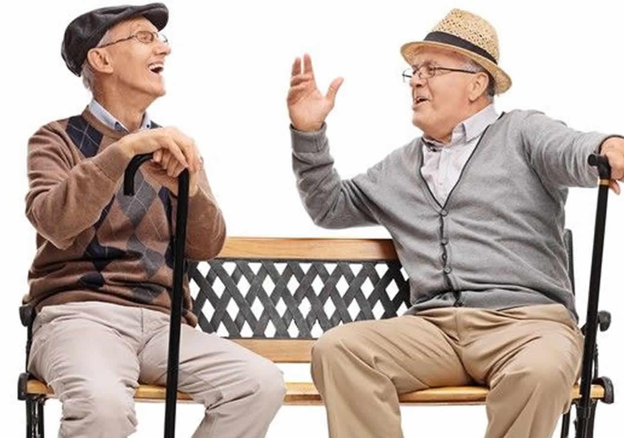 ΑΝΕΚΔΟΤΟ Δυο γέροι μια γυναίκα και το Αλτσαχαιμερ! Φοβερό γέλιο