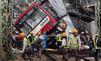 Δύο τρένα ταξιδεύουν στην ίδια γραμμή με ιλιγγιώδη ταχύτητα! Δεν φαντάζεστε τι έκανε ο οδηγός για να σώσει..(video)