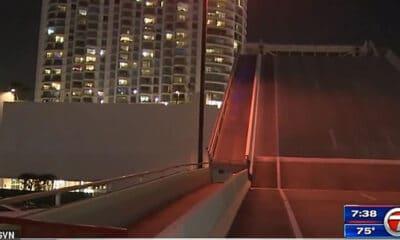 Ποδηλάτης βρίσκει τραγικό θάνατο σε γέφυρα που άνοιγε στο Μαϊάμι αφού θέλησε να...πηδήξει