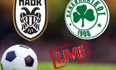 ΠΑΟΚ - Παναθηναϊκός live streaming: Ένα πολύ ενδιαφέρον παιχνίδι γίνεται σήμερα στην Τούμπα και εμείς εδώ θα σας δώσουμε τα links του αγώνα που θα ξεκινήσει στις 15.00 και θα μεταδοθεί