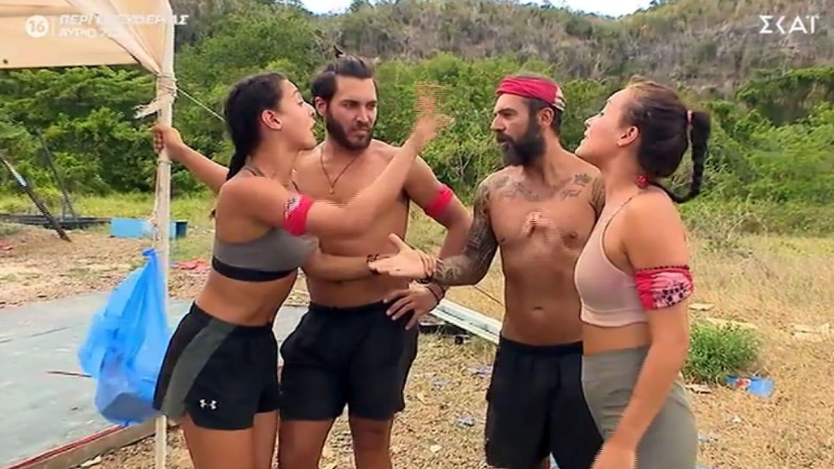 Survivor 4: «Αρχίσαν να κουράζουν οι καυγάδες»! Ποιος το είπε και τι παράδειγμα έδωσε (βίντεο)