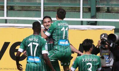 Σαρωτικός ο Παναθηναϊκός 3-0 τον ΠΑΟΚ - Στην 4η θέση πάνω απο την ΑΕΚ οι Πράσινοι