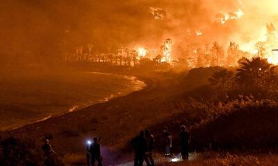 Η μεγαλύτερη φωτιά που υπήρξε τα τελευταία χρόνια στην Ελλάδα, είναι αυτή που έκαψε τα Γεράνεια όρη και κατέστρεψε περισσότερα απο 50.000 στρέμματα δάσους