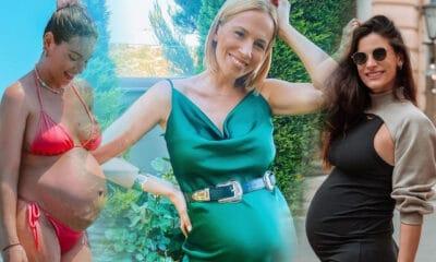 Τέσσερις είναι οι εγκυμονούσες κυρίες της Ελληνικής Showbiz που περιμένουν να γεννήσουν άμεσα και να φέρουν στον κόσμο ή το πρώτο τους παιδάκι,