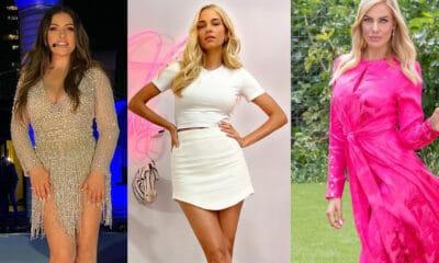 Οι κυρίες της τηλεόρασης ακολουθούν πιστά τις προσταγές της μόδας και δεν είναι λίγες φορές που κατάφεραν να μας θαμπώσουν με τις ενδυματολογικές