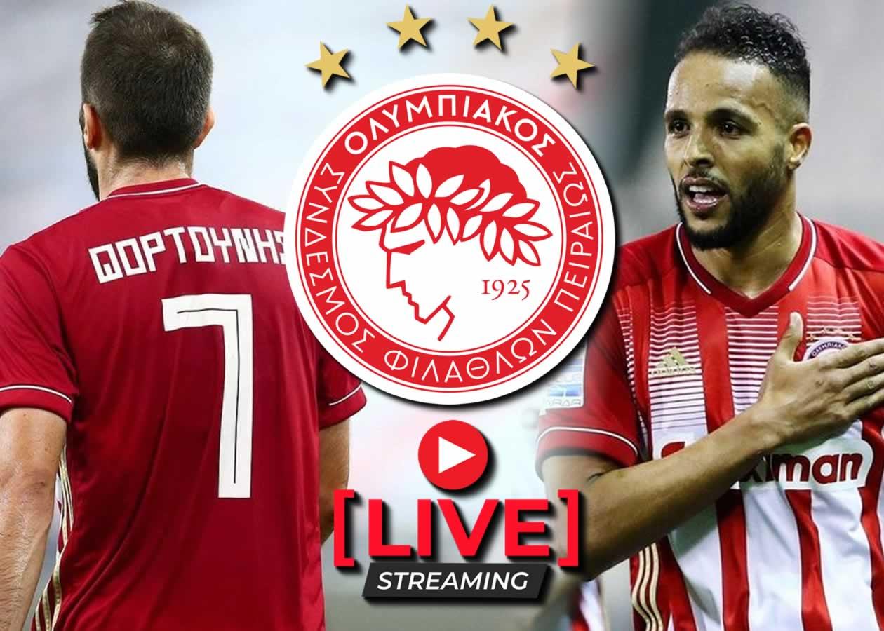 Ολυμπιακός-Βολφσμπέργκερ Live Streaming: Το πρώτο φιλικό προετοιμασίας του Ολυμπιακού θα γίνει σήμερα Σάββατο 26/6 και θα μεταδοθεί