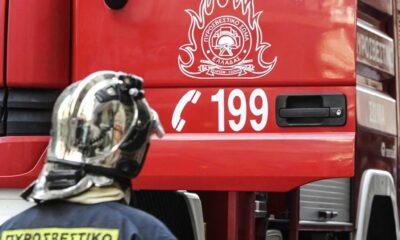Πυρκαγιά είναι σε εξέλιξη σε διαμέρισμα στην περιοχή της Καλαμαριάς, στην ανατολική Θεσσαλονίκη, με την Πυροσβεστική να επιχειρεί