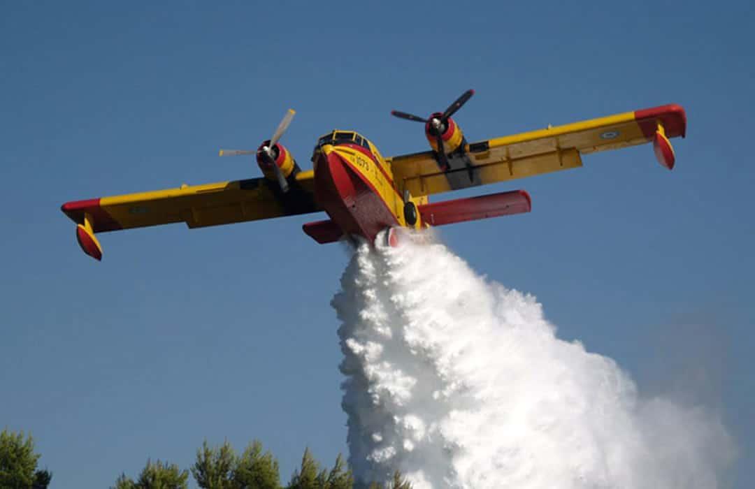Alert:Έπεσε Πυροσβεστικό αεροσκάφος στην Ζάκυνθο