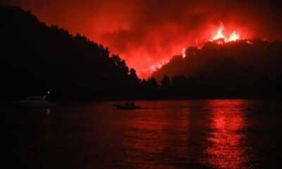 Φωτιά Λίμνη Εύβοιας