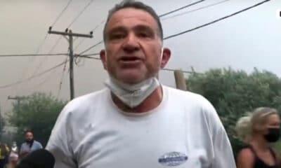 Πευκί Ευβοίας-Καταγγελία κατοίκου στην κάμερα του ΣΚΑΪ ζωντανά (video)
