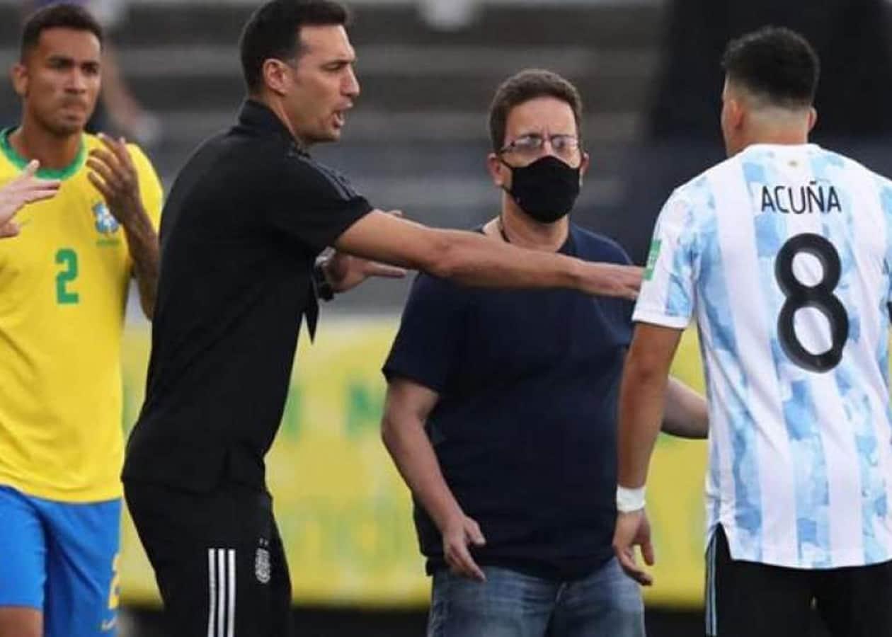 Με έντονο τρόπο αντέδρασαν οι ποδοσφαιρικές ομοσπονδίες της Βραζιλίας και της Αργεντινής με την πρωτοφανή απόφαση να διακοπεί ο μεταξύ τους