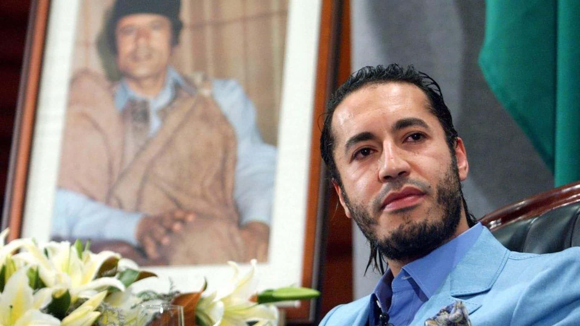 Ελεύθερος αφέθηκε στην Λιβύη ο γιος του Καντάφι, Σαάντι Καντάφι