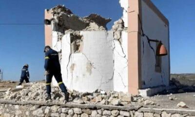 Δυστυχώς η ισχυρή σεισμική δόνηση που χτύπησε το Ηράκλειο της Κρήτης, μεγέθους 5.8 ρίχτερ, αφήνει πίσω της και έναν νεκρό συνάνθρωπο