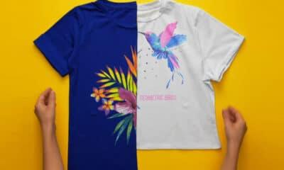 Μπορεί το καλοκαίρι να βρίσκετε στο τέλος του αυτό δεν σημαίνει ότι δεν μπορείτε να δημιουργήσετε φανταστικά νέα t-shirt απο αυτά που
